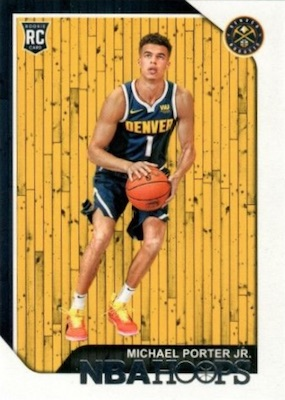 2018-19 Panini NBA Hoops Basketball Cards 3