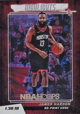 2018-19 Panini NBA Hoops Basketball Cards 35