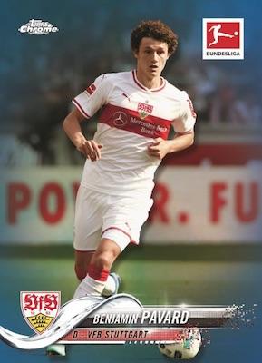 2018-19 Topps Chrome Bundesliga Soccer Cards - Checklist Added 4