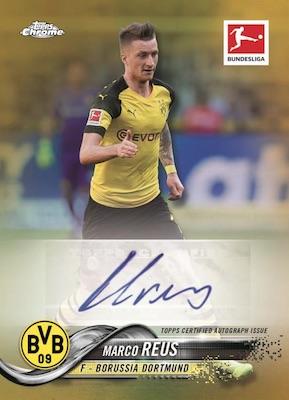 2018-19 Topps Chrome Bundesliga Soccer Cards - Checklist Added 6