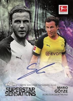 2018-19 Topps Chrome Bundesliga Soccer Cards - Checklist Added 7