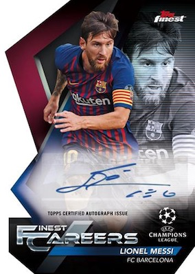 2018-19 Topps Finest UEFA Champions League Soccer Cards - Checklist Added 7