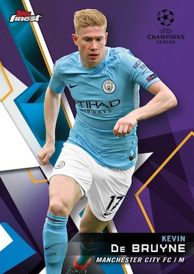 2018-19 Topps Finest UEFA Champions League Soccer Cards - Checklist Added 3