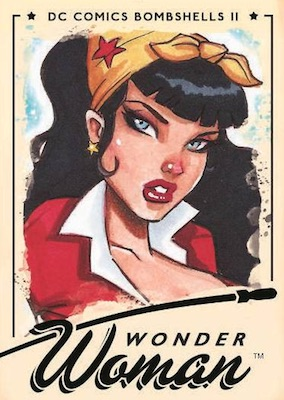 2018 Cryptozoic DC Bombshells Series 2 Trading Cards 22