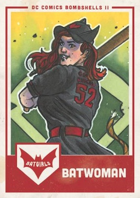 2018 Cryptozoic DC Bombshells Series 2 Trading Cards 23