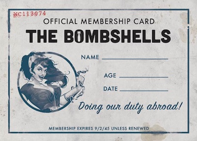 2018 Cryptozoic DC Bombshells Series 2 Trading Cards 25