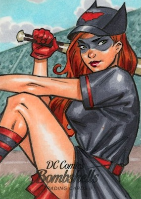2018 Cryptozoic DC Bombshells Series 2 Trading Cards 29