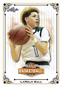 2018 Leaf Best of Basketball Cards 2