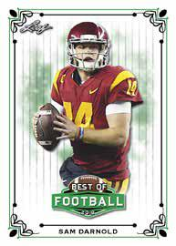 2018 Leaf Best of Football Cards 3