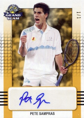 2018 Leaf Grand Slam Tennis Cards 1