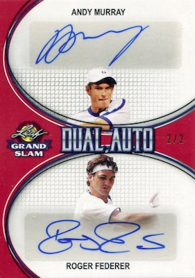 2018 Leaf Grand Slam Tennis Cards 22
