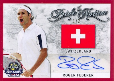 2018 Leaf Grand Slam Tennis Cards 2