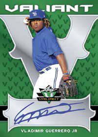 2018 Leaf Valiant Baseball