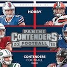 2018 Panini Contenders Football Cards - Rookie Ticket Short Print Runs