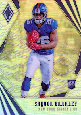 2018 Panini Phoenix Football Checklist f64539443