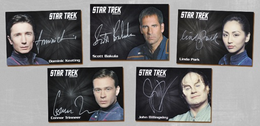 Star Trek Enterprise Archives Series 1