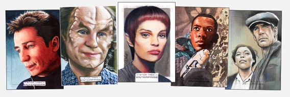 2018 Rittenhouse Star Trek Enterprise Archives Series 1 Trading Cards 4