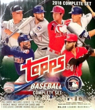 2018 Topps Baseball Complete Factory Set Breakdown 9