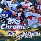 2018 Topps Chrome Update Series Baseball Cards