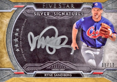 2018 Topps Five Star Baseball