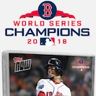 2018 Topps Now Boston Red Sox World Series Champions Set