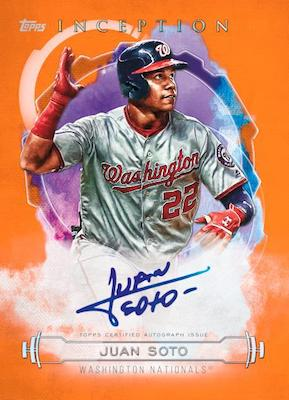 2019 Topps Inception Baseball Cards 4
