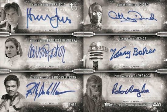 2019 Topps Star Wars Black
