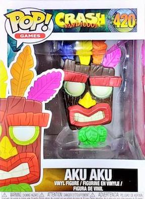 Funko Pop Crash Bandicoot Vinyl Figures 11