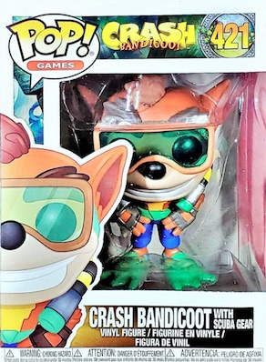 Funko Pop Crash Bandicoot Vinyl Figures 12
