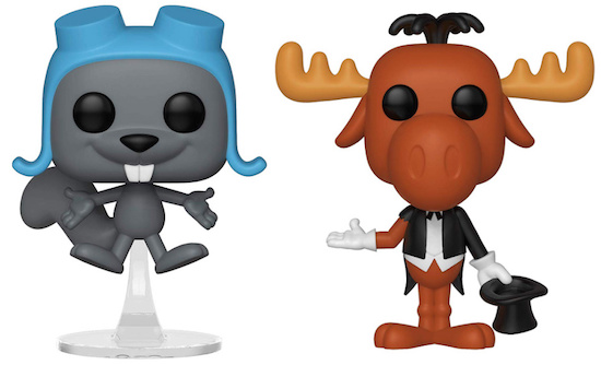 Funko Pop Rocky and Bullwinkle