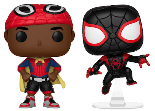 Into the Spider-Verse Spider-Man Spider-Man Noir No Hat US Exclusive Pop!