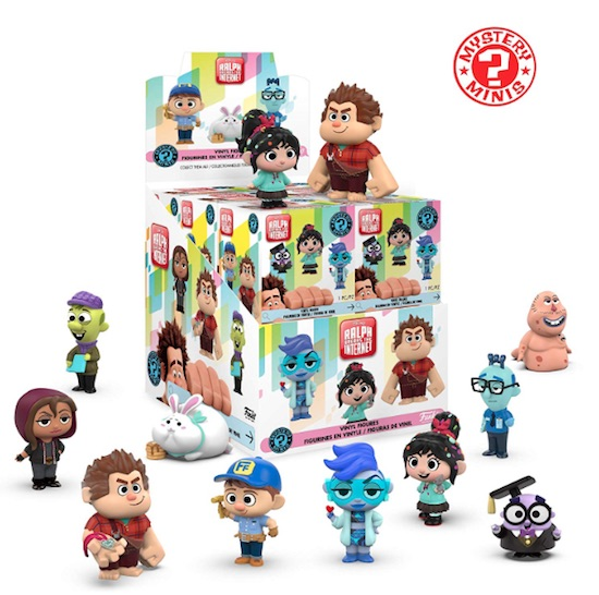 Funko Ralph Breaks the Internet Mystery Minis 1