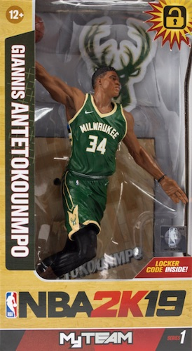 2018-19 McFarlane NBA 2K19 Basketball Figures 2