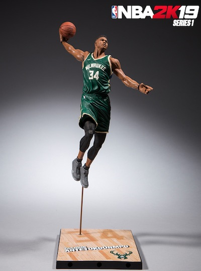 2018-19 McFarlane NBA 2K19 Basketball Figures 3