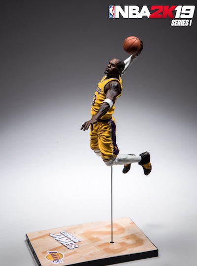 2018-19 McFarlane NBA 2K19 Basketball Figures 8