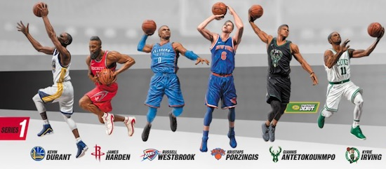 2018-19 McFarlane NBA 2K19 Basketball Figures 1