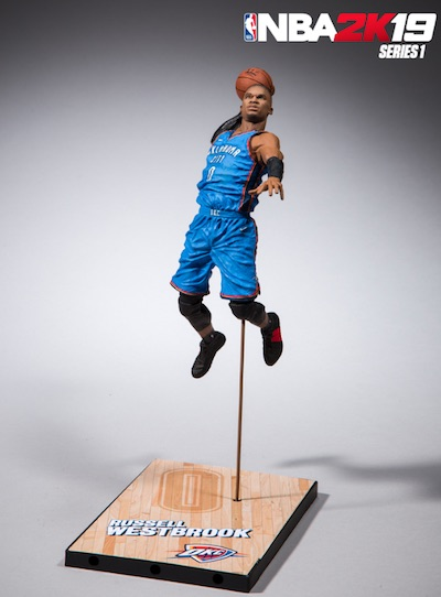 2018-19 McFarlane NBA 2K19 Basketball Figures 9