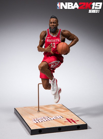2018-19 McFarlane NBA 2K19 Basketball Figures 4