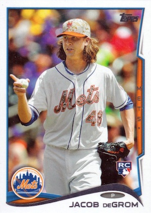 Jacob deGrom Rookie Cards Checklist and Top Prospect Cards 7