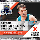 2017-18 Upper Deck Euroleague Basketball Cards