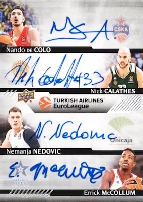 2017-18 Upper Deck Euroleague Basketball Cards 4