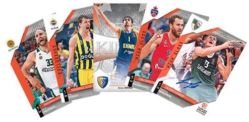 2017-18 Upper Deck Euroleague Basketball Cards 1