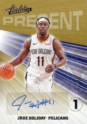 2018-19 Panini Absolute Memorabilia Basketball