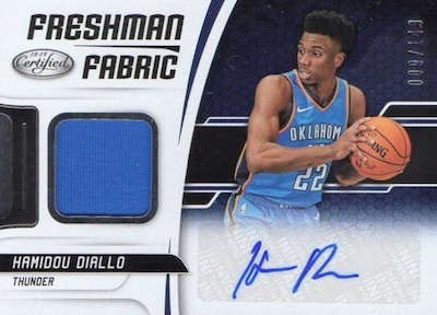 2018-19 Panini Certified Basketball Cards 6