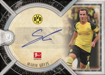 2018-19 Topps Museum Collection Bundesliga Soccer Cards 4