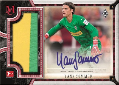 2018-19 Topps Museum Collection Bundesliga Soccer Cards 6