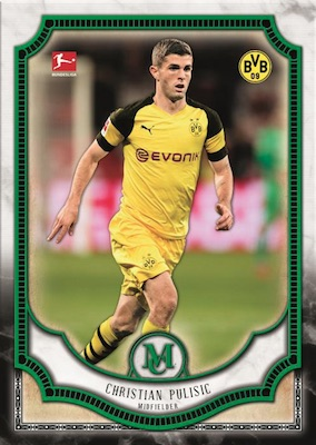 2018-19 Topps Museum Collection Bundesliga Soccer Cards 3
