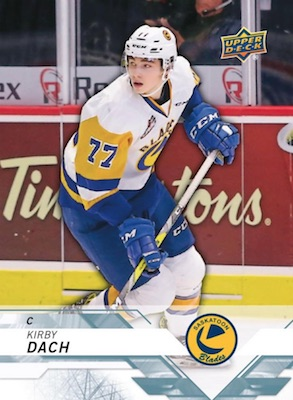 2018-19 Upper Deck CHL Hockey Cards 3