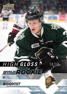 2018-19 Upper Deck CHL Hockey Cards 4
