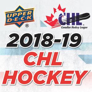 2018-19 Upper Deck CHL Hockey Checklist, Set Info, Boxes